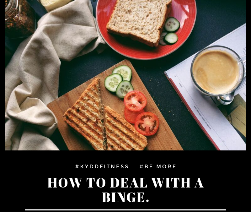 ***How to deal with a binge?***⁣